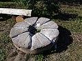 Мельничный камень у моста -бывшая мельниуа Ясной Поляны.JPG