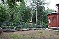 Надгробные памятники на могилах настоятелей Валаамского монастыря. Общий вид.JPG