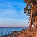 Осенний закат на озере Горькое-Перешеечное, район с.Новоегорьевское, Алтайский край.jpg