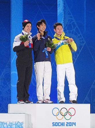 Kazakhstan at the 2014 Winter Olympics - Denis Ten won bronze in the men's singles