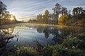 Рассвет. Чехов, парк Усадьбы Гончаровых.jpg