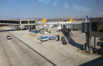 Sabiha Gökçen International Airport - Apron view