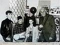 Сергей Иванович в окружении своих учеников на рубеже 90-х годов ХХв..jpg