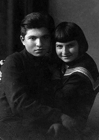 Emil Gilels - Emil Gilels and his sister, the violinist Elizabeth.