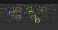 פריסת תווי ניקוד עבריים ותווים נוספים במקלדת בלחיצה על Alt ימני, החל ממערכת הפעלה ווינדוס 8.png