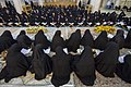 عکس های مراسم ترتیل خوانی یا جزء خوانی یا قرائت قرآن در ایام ماه رمضان در حرم فاطمه معصومه در شهر قم 47.jpg