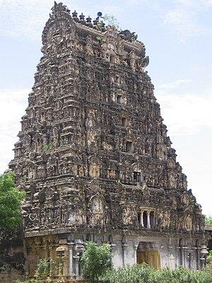 Aiyarappar temple - Gopuram view