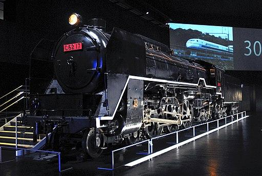 リニア・鉄道館のC62 17(2013)