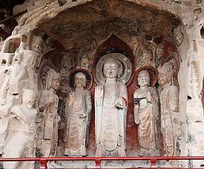 Felsskulpturen des Huangze-Klosters