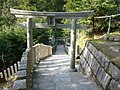 脳天大神 石段 Stone steps toward Nouten-ōkami - panoramio.jpg