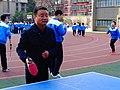 雁塔 陕师大附中分校在打乒乓球 06.jpg