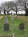 -2018-12-15 Churchyard, Saint Margarets parish church, Witton, Norfolk.JPG