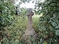 -2020-06-08 Celtic cross on a grave, Saint James, Southrepps.JPG
