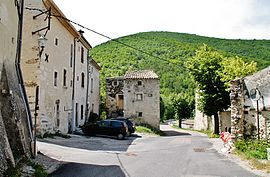 The village of Montjoux
