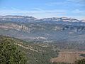 011 Baldomar, la serra Grossa i el Montsec de Rúbies des de Montsonís.JPG