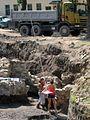 02012.07.28 Die Ausgrabungen auf der Burg von Sanok.jpg