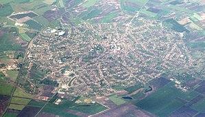 Abony - Aerial view