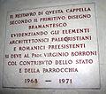 0401 - Milano - San Nazaro - Lapide nella Cappella di S. Caterina - Foto Giovanni Dall'Orto 5-May-2007.jpg