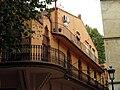 043 Mercat, antic Ateneu (Caldes d'Estrac), façana lateral.JPG