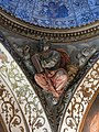 048 Església de Santa Maria (Salomó), capella del Sant Crist, l'evangelista Sant Marc.jpg