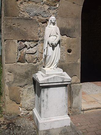 Arras-sur-Rhône - Statue of the Virgin Mary