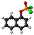 1-Naphthyl dichlorophosphate molecule ball.png