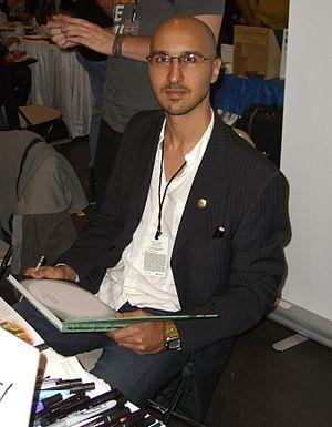 Karl Kerschl - Kerschl at the New York Comic Con in Manhattan, October 9, 2010