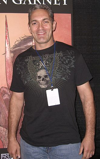 Ron Garney - Garney at the New York Comic Con in Manhattan, October 9, 2010.