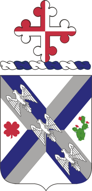 115th Infantry Regiment (United States) - Coat of arms
