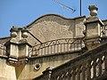 119 Can Blasi, muralla del Castell 65 (Valls), baranes i esgrafiat.jpg