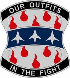 120th Infantry Brigade (United States) - Image: 120Infantry Bde DUI