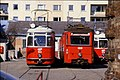 129L05040485 Strassenbahn, Remise Kreuzgasse, Typ L 552, Typ NH 6889 , Typ L 549.jpg
