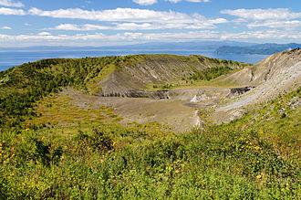 Mount Usu - Image: 130922 Mount Usu Sobetsu Hokkaido Japan 09bs 5