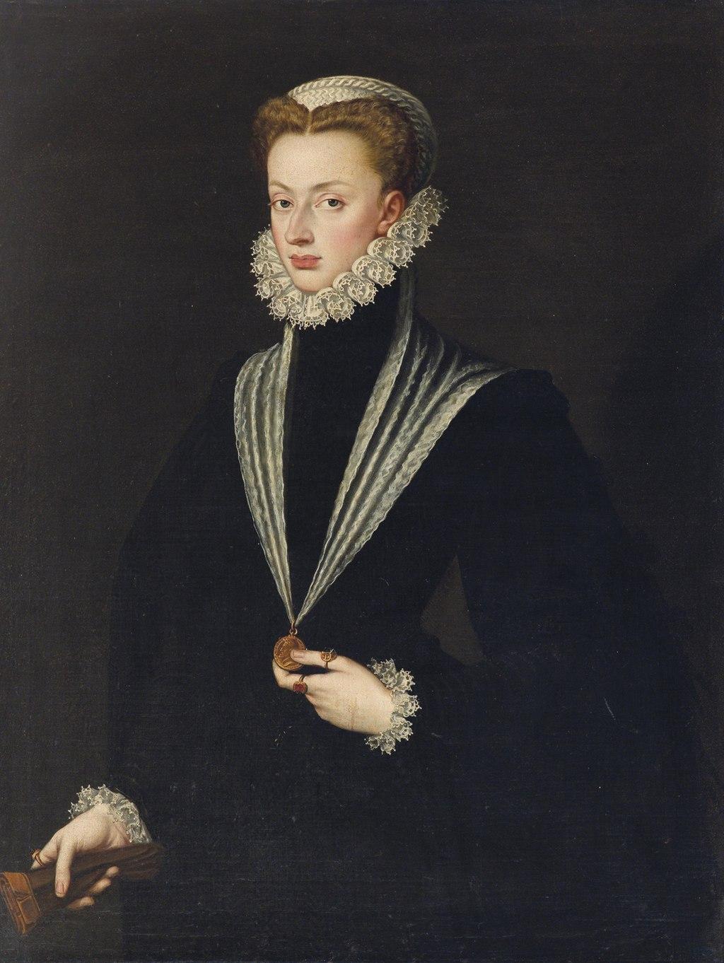 Juana de Austria por Sofonisba Anguissola