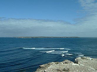 Waldegrave Islands - Waldegrave Islands as viewed from the nearby coastline