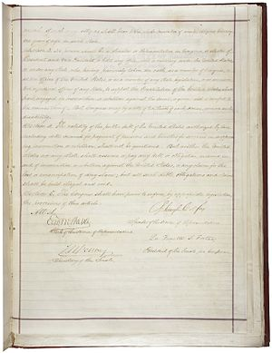14th Amendment of the United States Constituti...