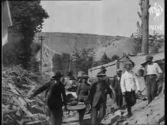 File:1500 killed, 2000 injured in terrible earthquake (Vallenar, Chile, 1923).ogv