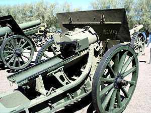 152 mm howitzer M1910/37 - An identically looking 152 mm howitzer M1910.