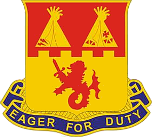 157th Field Artillery Regiment - Image: 157th Field Artillery Regiment DUI