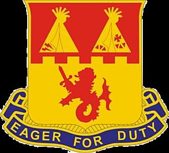 157th Field Artillery Regiment - Image: 157th Field Artillery Regiment DUI