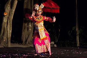 Condong - A condong dancer
