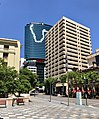 180 Brisbane building seen from ANZAC Square, Brisbane.jpg