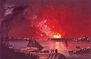 1835 in the United States - December 16–17: Great Fire of New York