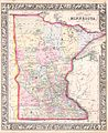 1864 Mitchell Map of Minnesota - Geographicus - MN-mitchell-1864.jpg