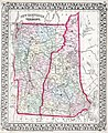 1874 Mitchell Map of Vermont and New Hampshire - Geographicus - VTNH-m-1874.jpg