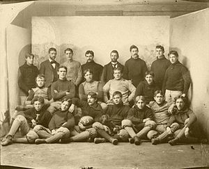 Latrobe Athletic Association - Latrobe's 1895 team