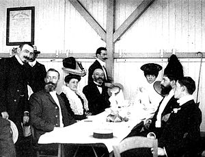 Declaration of Boulogne - The Zamenhof and Michaux families at the first World Esperanto Congress