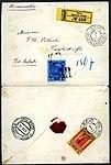 1909 Scio Constantinople Mi56&57.jpg