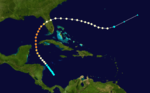 1921 Tampa Bay hurricane track.png