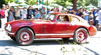 Aston Martin DB2 - Image: 1949 Aston Martin DB2 prototype at the 2015 Carmel Tour d'Elegance